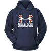 NFL – Cincinnati Bengals Girl Under Armour Football Shirts-T-shirt-Unisex Hoodie-Navy-S-PopsSpot