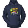 NFL – Cleveland Browns Makes Me Happy You Not So Much The Grinch Football Sweatshirt-T-shirt-Unisex Hoodie-Navy-S-Itees Global