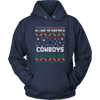 NFL - All I Want For Christmas Is Dallas Cowboys Football Shirts-T-shirt-Unisex Hoodie-Navy-S-PopsSpot
