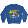 NFL – Arizona Cardinals Makes Me Happy You Not So Much The Grinch Football Sweatshirt-T-shirt-Crewneck Sweatshirt-Royal-S-PopsSpot