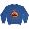 NFL - Atlanta Falcons Pumpkin Football Shirt-T-shirt-Crewneck Sweatshirt-Royal-S-Itees Global