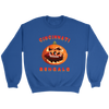 NFL - Cincinnati Bengals Pumpkin Football Shirt-T-shirt-Crewneck Sweatshirt-Royal-S-Itees Global