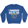 NFL - I Married Into This Indianapolis Colts Football Sweatshirt-T-shirt-Crewneck Sweatshirt-Royal-S-PopsSpot