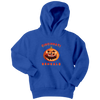 NFL - Cincinnati Bengals Pumpkin Football Shirt-T-shirt-Youth Hoodie-Royal Blue-XS-Itees Global