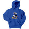 NFL - Baltimore Ravens Mickey Mouse Donald Duck Goofy Football Shirt-T-shirt-Youth Hoodie-Royal Blue-XS-PopsSpot