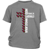 NFL – All I Need Today Is A Little Bit Of Arizona Cardinals And A Whole Lot Of Jesus Football Shirts-T-shirt-District Youth Shirt-Sport Grey-XS-Itees Global