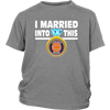 NFL - I Married Into This Chicago Bears Football Sweatshirt-T-shirt-District Youth Shirt-Sport Grey-XS-PopsSpot