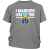 NFL - I Married Into This Indianapolis Colts Football Sweatshirt-T-shirt-District Youth Shirt-Sport Grey-XS-PopsSpot
