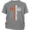 NFL – All I Need Today Is A Little Bit Of Cincinnati Bengals And A Whole Lot Of Jesus Football Shirts-T-shirt-District Youth Shirt-Sport Grey-XS-PopsSpot