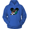 NFL – Atlanta Falcons Mickey Mouse Football Shirt-T-shirt-Unisex Hoodie-Royal Blue-S-PopsSpot