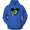 NFL – Green Bay Packers Mickey Mouse Football Shirt-T-shirt-Unisex Hoodie-Royal Blue-S-Itees Global