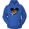 NFL – Cincinnati Bengals Mickey Mouse Football Shirt-T-shirt-Unisex Hoodie-Royal Blue-S-PopsSpot