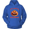 NFL - Atlanta Falcons Pumpkin Football Shirt-T-shirt-Unisex Hoodie-Royal Blue-S-Itees Global