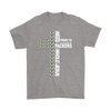 NFL – All I Need Today Is A Little Bit Of Green Bay Packers And A Whole Lot Of Jesus Football Shirt-T-shirt-Gildan Mens T-Shirt-Sport Grey-S-Itees Global