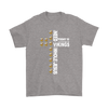 NFL – All I Need Today Is A Little Bit Of Minnesota Vikings And A Whole Lot Of Jesus Football Shirts-T-shirt-Gildan Mens T-Shirt-Sport Grey-S-PopsSpot