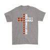 NFL – All I Need Today Is A Little Bit Of Cincinnati Bengals And A Whole Lot Of Jesus Football Shirts-T-shirt-Gildan Mens T-Shirt-Sport Grey-S-PopsSpot