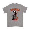NFL – Cleveland Browns Venom Groot Guardian Of The Galaxy Football Shirts-T-shirt-Gildan Mens T-Shirt-Sport Grey-S-Itees Global