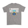NFL - I Married Into This Indianapolis Colts Football Sweatshirt-T-shirt-Gildan Mens T-Shirt-Sport Grey-S-PopsSpot