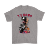 NFL – Houston Texans Venom Groot Guardian Of The Galaxy Football Shirts-T-shirt-Gildan Mens T-Shirt-Sport Grey-S-Itees Global