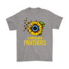 NFL - Carolina Panthers Sunflower Football NFL Shirts-T-shirt-Gildan Mens T-Shirt-Sport Grey-S-Itees Global