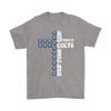 NFL – All I Need Today Is A Little Bit Of Indianapolis Colts And A Whole Lot Of Jesus Football Shirts-T-shirt-Gildan Mens T-Shirt-Sport Grey-S-Itees Global
