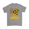 NFL - Denver Broncos Sunflower Football NFL Shirts-T-shirt-Gildan Mens T-Shirt-Sport Grey-S-Itees Global