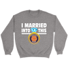 NFL - I Married Into This Chicago Bears Football Sweatshirt-T-shirt-Crewneck Sweatshirt-Sport Grey-S-PopsSpot