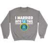 NFL - I Married Into This Miami Dolphins Football Sweatshirt