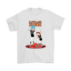 NFL - Cleveland Browns Rick And Morty Football NFL Shirts-T-shirt-Gildan Mens T-Shirt-White-S-PopsSpot