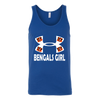 NFL – Cincinnati Bengals Girl Under Armour Football Shirts-T-shirt-Canvas Unisex Tank-Royal-S-PopsSpot