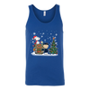 NFL – Chicago Bears Snoopy The Peanuts Movie Christmas Football Super Bowl Shirt-T-shirt-Canvas Unisex Tank-Royal-S-PopsSpot