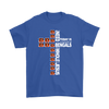 NFL – All I Need Today Is A Little Bit Of Cincinnati Bengals And A Whole Lot Of Jesus Football Shirts-T-shirt-Gildan Mens T-Shirt-Royal Blue-S-PopsSpot