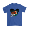 NFL – Cincinnati Bengals Mickey Mouse Football Shirts-T-shirt-Gildan Mens T-Shirt-Royal Blue-S-PopsSpot