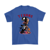 NFL – Houston Texans Venom Groot Guardian Of The Galaxy Football Shirts-T-shirt-Gildan Mens T-Shirt-Royal Blue-S-Itees Global