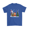 NFL – Denver Broncos Snoopy The Peanuts Movie Christmas Football Super Bowl Shirt-T-shirt-Gildan Mens T-Shirt-Royal Blue-S-PopsSpot