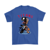 NFL – Tennessee Titans Venom Groot Guardian Of The Galaxy Football Shirts-T-shirt-Gildan Mens T-Shirt-Royal Blue-S-PopsSpot