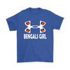 NFL – Cincinnati Bengals Girl Under Armour Football Shirts-T-shirt-Gildan Mens T-Shirt-Royal Blue-S-PopsSpot