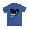 NFL – Atlanta Falcons Mickey Mouse Football Shirts-T-shirt-Gildan Mens T-Shirt-Royal Blue-S-PopsSpot