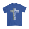 NFL – All I Need Today Is A Little Bit Of Green Bay Packers And A Whole Lot Of Jesus Football Shirt-T-shirt-Gildan Mens T-Shirt-Royal Blue-S-Itees Global