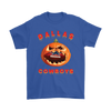 NFL – Halloween Pumpkin Dallas Cowboys Football NFL Shirts-T-shirt-Gildan Mens T-Shirt-Royal Blue-S-Itees Global