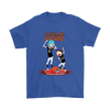 NFL - Cleveland Browns Rick And Morty Football NFL Shirts-T-shirt-Gildan Mens T-Shirt-Royal Blue-S-PopsSpot