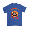 NFL – Halloween Pumpkin Los Angeles Rams Football NFL Shirts-T-shirt-Gildan Mens T-Shirt-Royal Blue-S-Itees Global