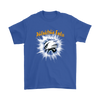 NFL – Awesome Philadelphia Eagles Football Shirts-T-shirt-Gildan Mens T-Shirt-Royal Blue-S-Itees Global