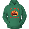 NFL - Atlanta Falcons Pumpkin Football Shirt-T-shirt-Unisex Hoodie-Kelly Green-S-Itees Global