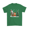 NFL – Denver Broncos Snoopy The Peanuts Movie Christmas Football Super Bowl Shirt-T-shirt-Gildan Mens T-Shirt-Irish Green-S-PopsSpot