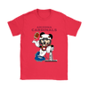 NFL – Arizona Cardinals Mickey Mouse Super Bowl Football Shirt-T-shirt-Gildan Womens T-Shirt-Red-S-PopsSpot