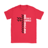 NFL – All I Need Today Is A Little Bit Of Arizona Cardinals And A Whole Lot Of Jesus Football Shirts-T-shirt-Gildan Womens T-Shirt-Red-S-Itees Global