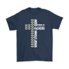NFL – All I Need Today Is A Little Bit Of Green Bay Packers And A Whole Lot Of Jesus Football Shirt-T-shirt-Gildan Mens T-Shirt-Navy-S-Itees Global