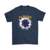 NFL – Awesome New York Giants Football Shirts-T-shirt-Gildan Mens T-Shirt-Navy-S-Itees Global
