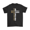 NFL – All I Need Today Is A Little Bit Of Minnesota Vikings And A Whole Lot Of Jesus Football Shirts-T-shirt-Gildan Mens T-Shirt-Black-S-PopsSpot